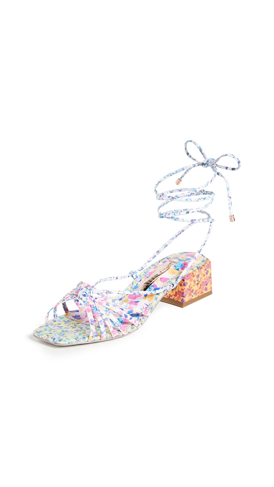 Sophia Webster Laurellie Low Sandals – 55% Off Sale