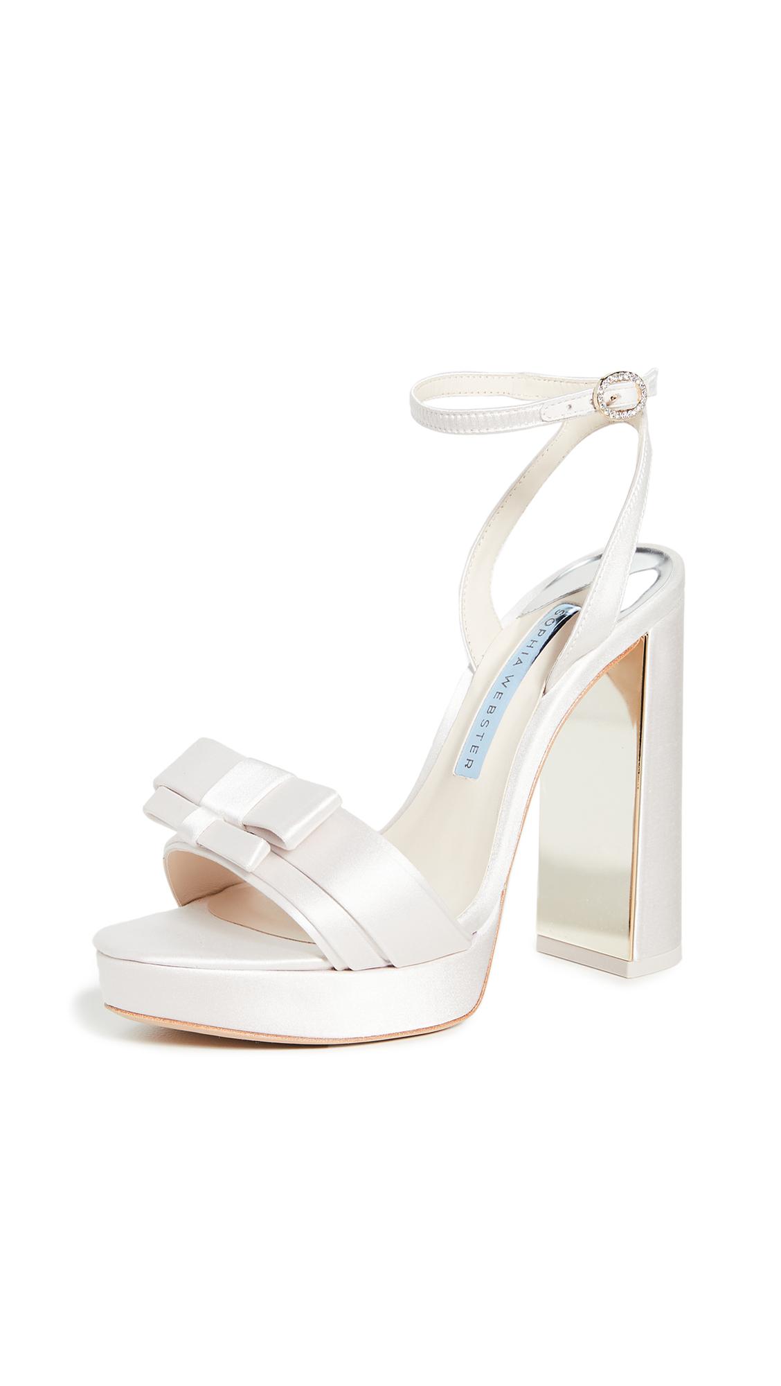 Sophia Webster Andie Bow Platform Sandals - 30% Off Sale