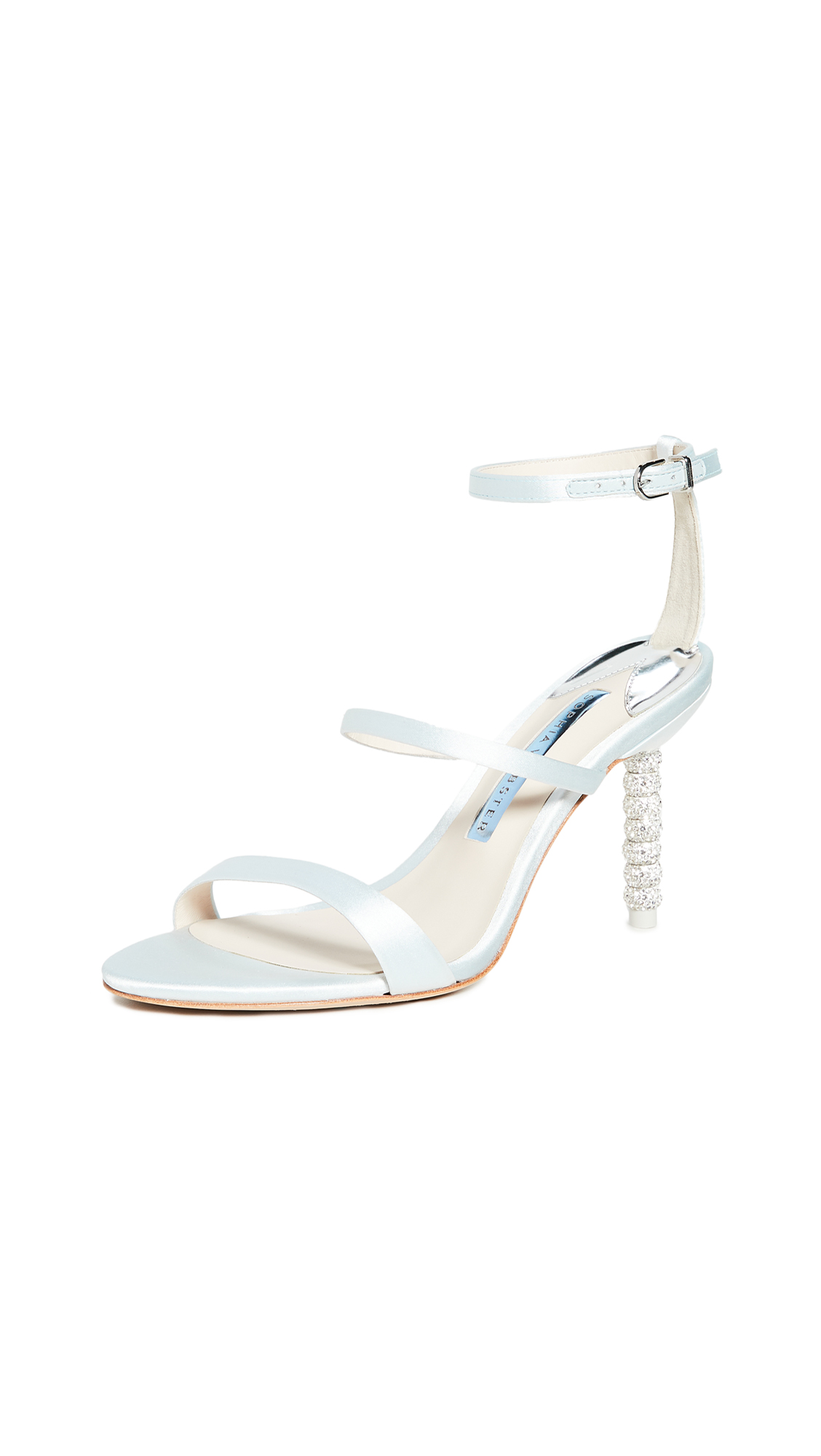 Sophia Webster Rosalind Crystal Mid Sandals - 30% Off Sale