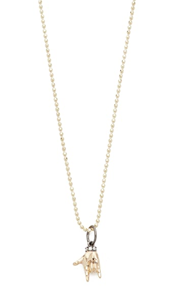 Sydney Evan I Love You Sign Language Charm Necklace