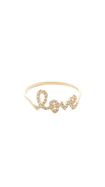 Sydney Evan Love Ring - Gold
