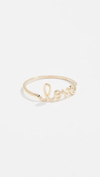 Sydney Evan Accessories 14K LOVE RING