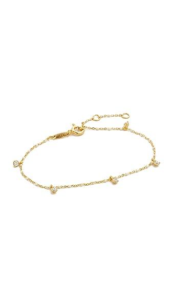 Tai Sena Bracelet In Gold/Clear