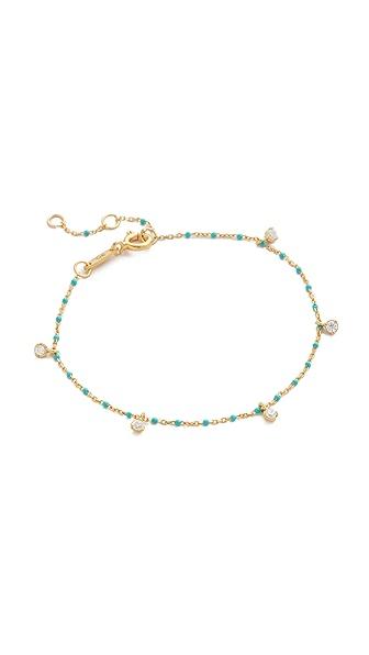 Tai Sena Bracelet - Turquoise/Clear