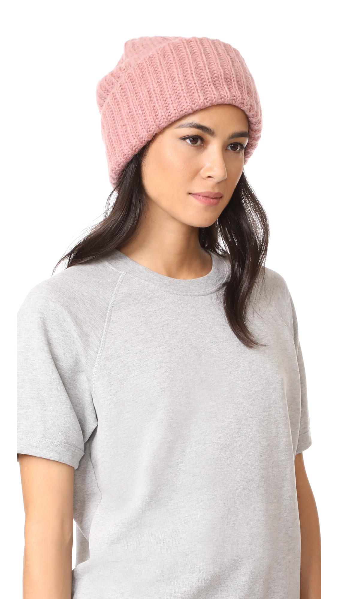 Tak. Ori Knit Beanie - Light Pink