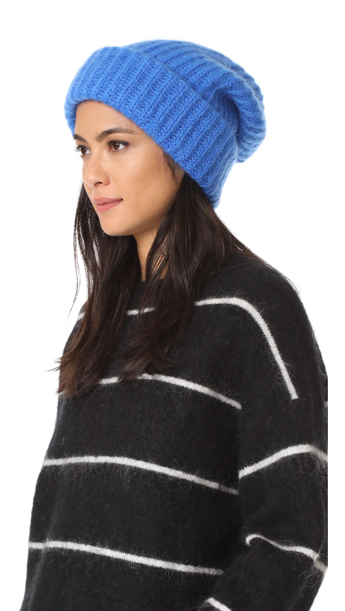 Tak. Ori Knit Beanie - Blue Electric