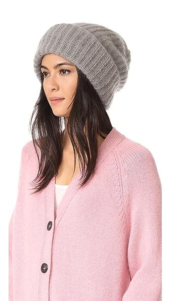 Tak. Ori Knit Beanie - Light Grey