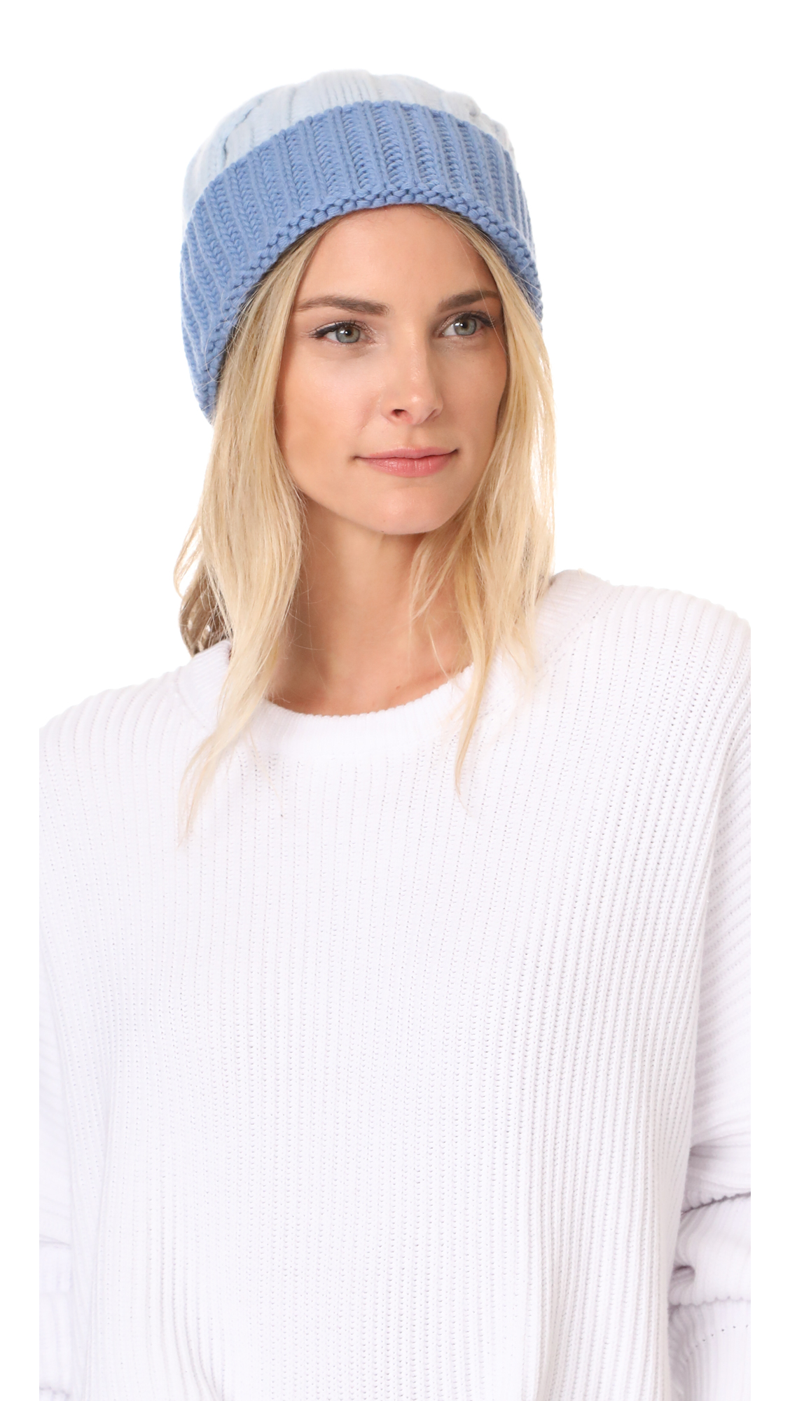 Tak. Ori Knit Beanie - Light Blue