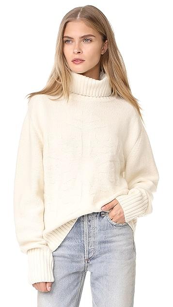 Tak. Ori Snowflake Sweater