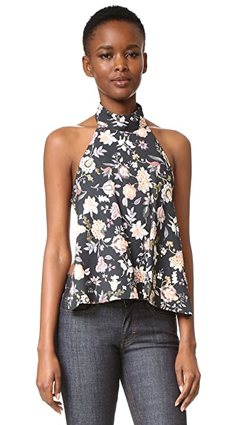 Talulah The Lottie Floral Top - Floral
