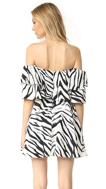 Talulah Wild at Heart Off Shoulder Mini Dress