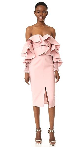 Talulah Alessa Off Shoulder Midi Dress