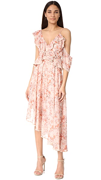 Talulah The Faithful One Dress In Floral Print