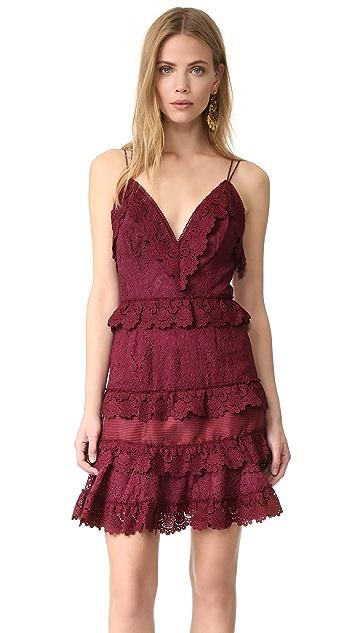 Talulah Shadow Dance Crossover Mini Dress