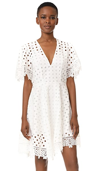 Talulah Don t Say Mini Dress - White