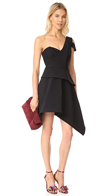 Talulah Aretha Asymmetrical Mini Dress