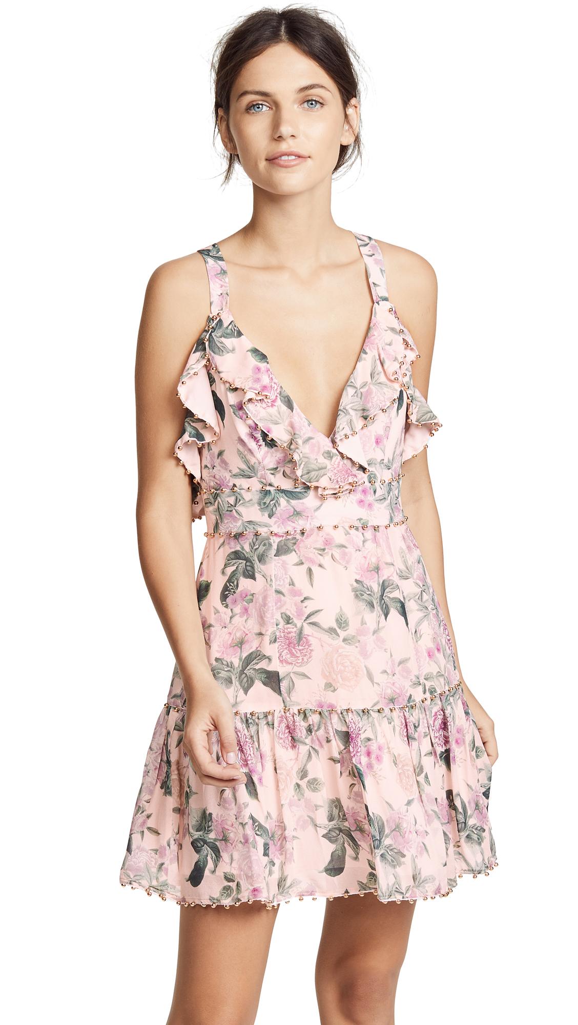 La Maison Talulah Floral Pleasure Mini Dress