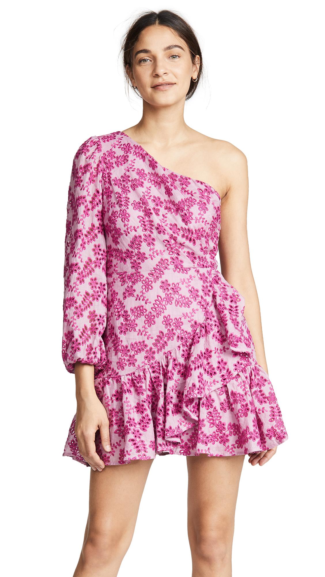 La Maison Talulah Aurora Mini Dress In Antique Rose