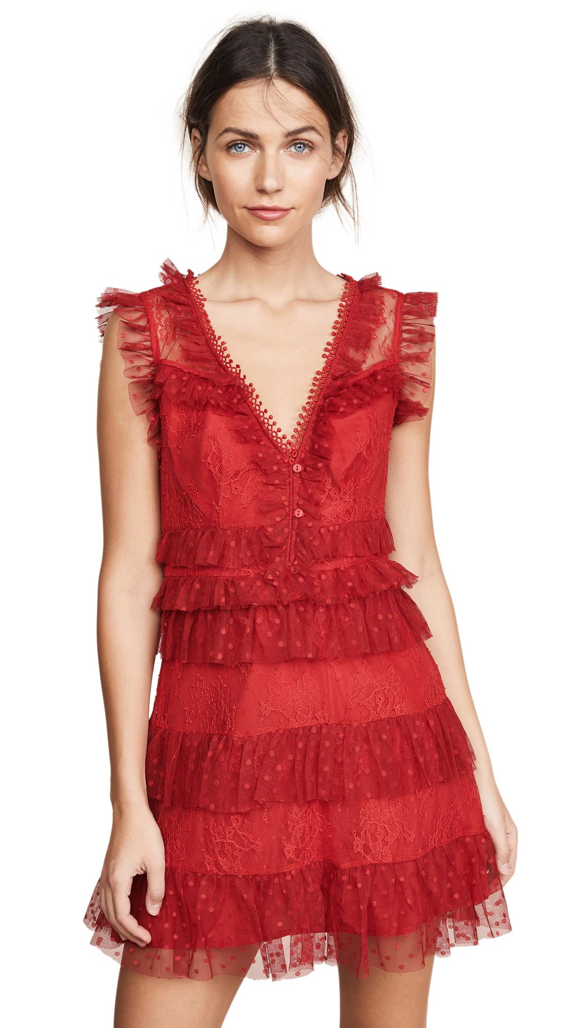 La Maison Talulah Tango Dreams Mini Dress