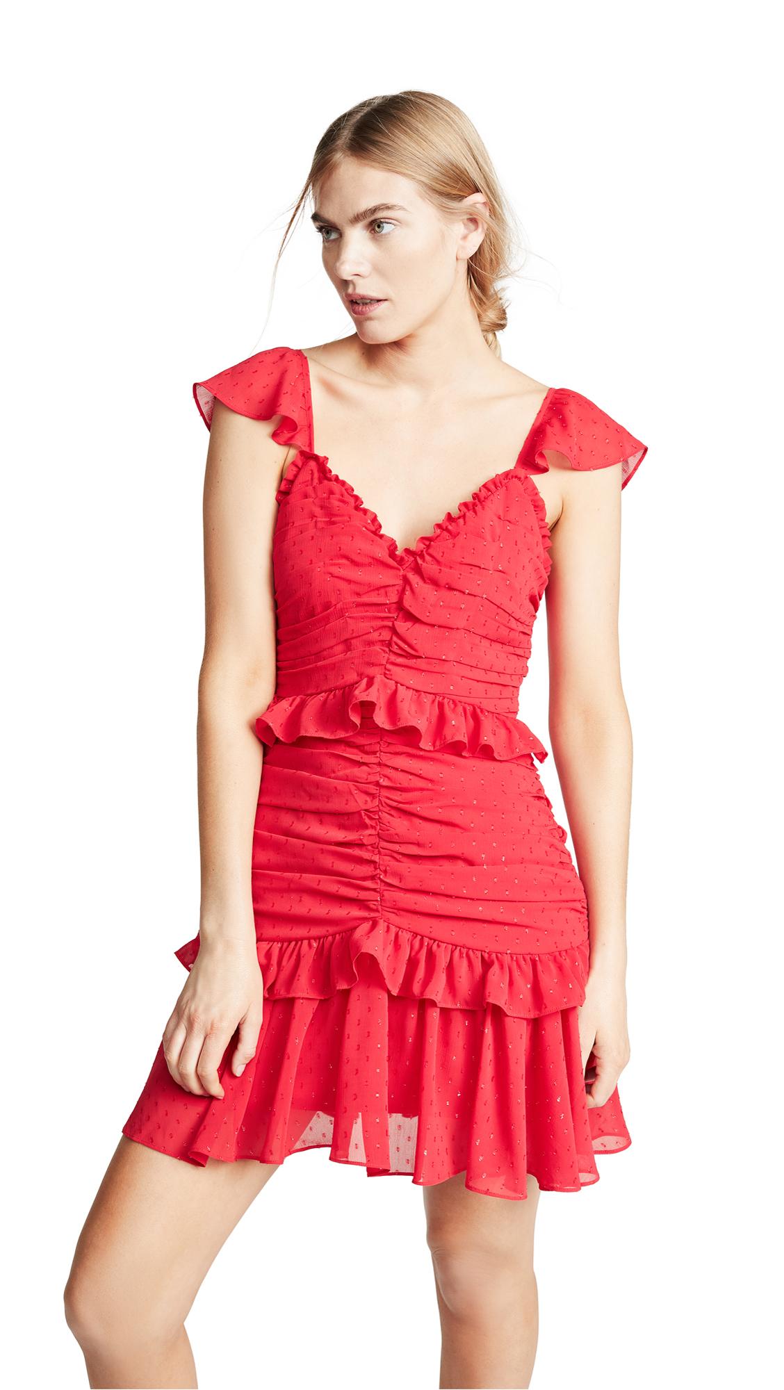 La Maison Talulah Rue Mini Dress - Red