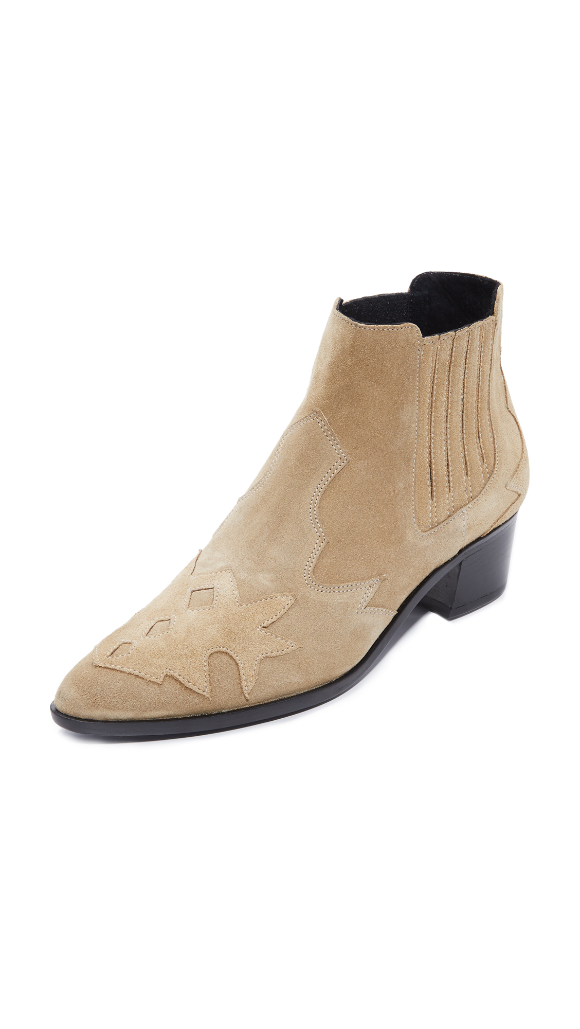 The Archive Bleeker Booties - Camel