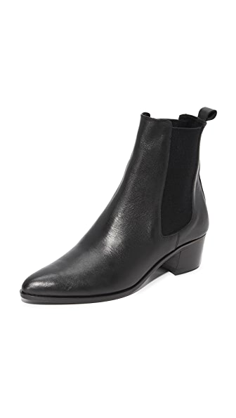 The Archive Mercer Mid Booties - Black