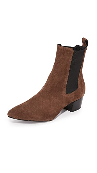The Archive The Mercer Booties - Chocolate Brown