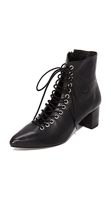 The Archive The Jane Lace Up Booties