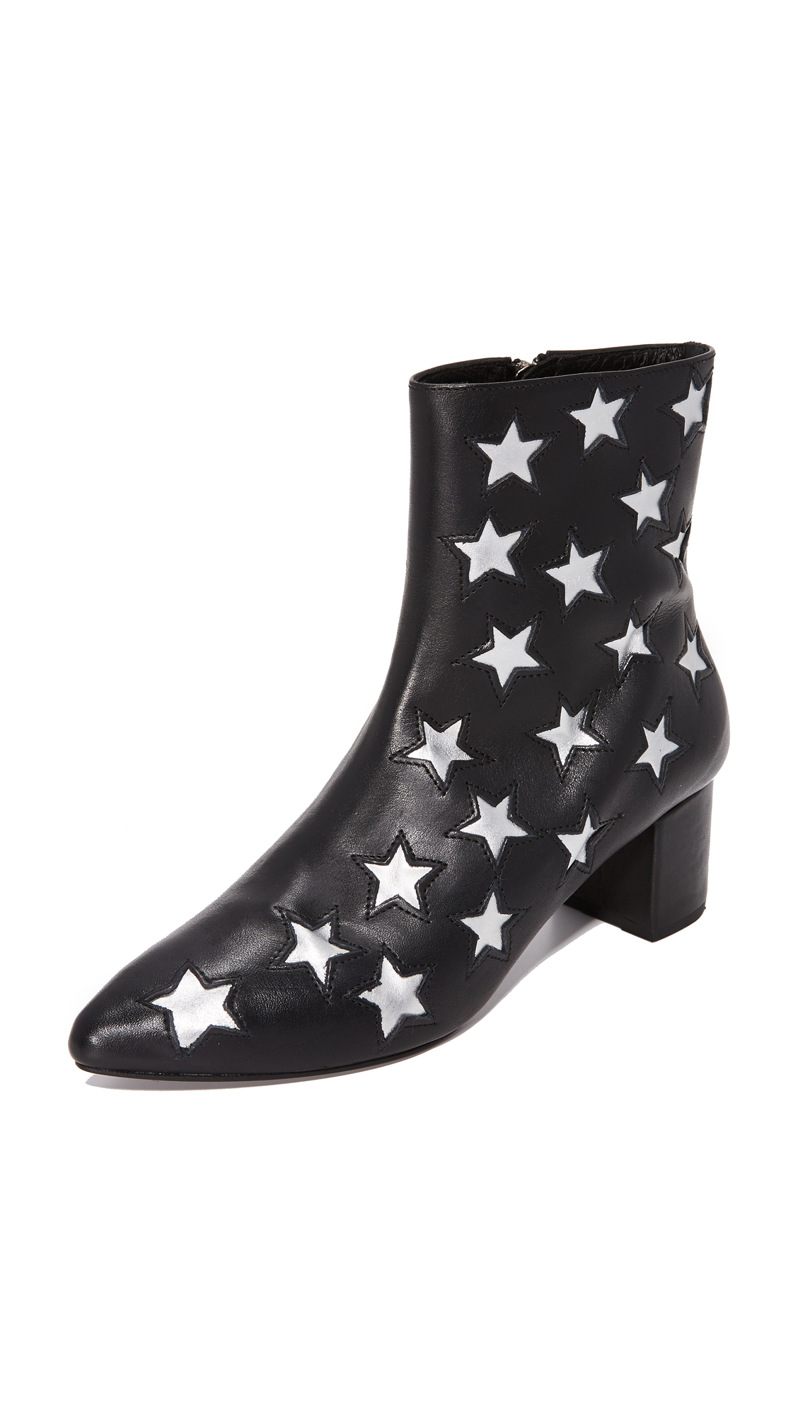 The Archive The Madison Booties - Black/Silver