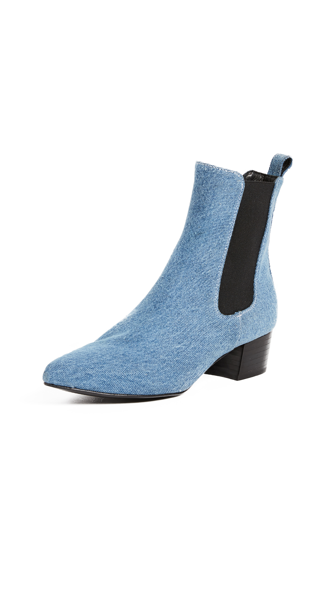 The Archive Mercer Heeled Chelsea Boots - Denim