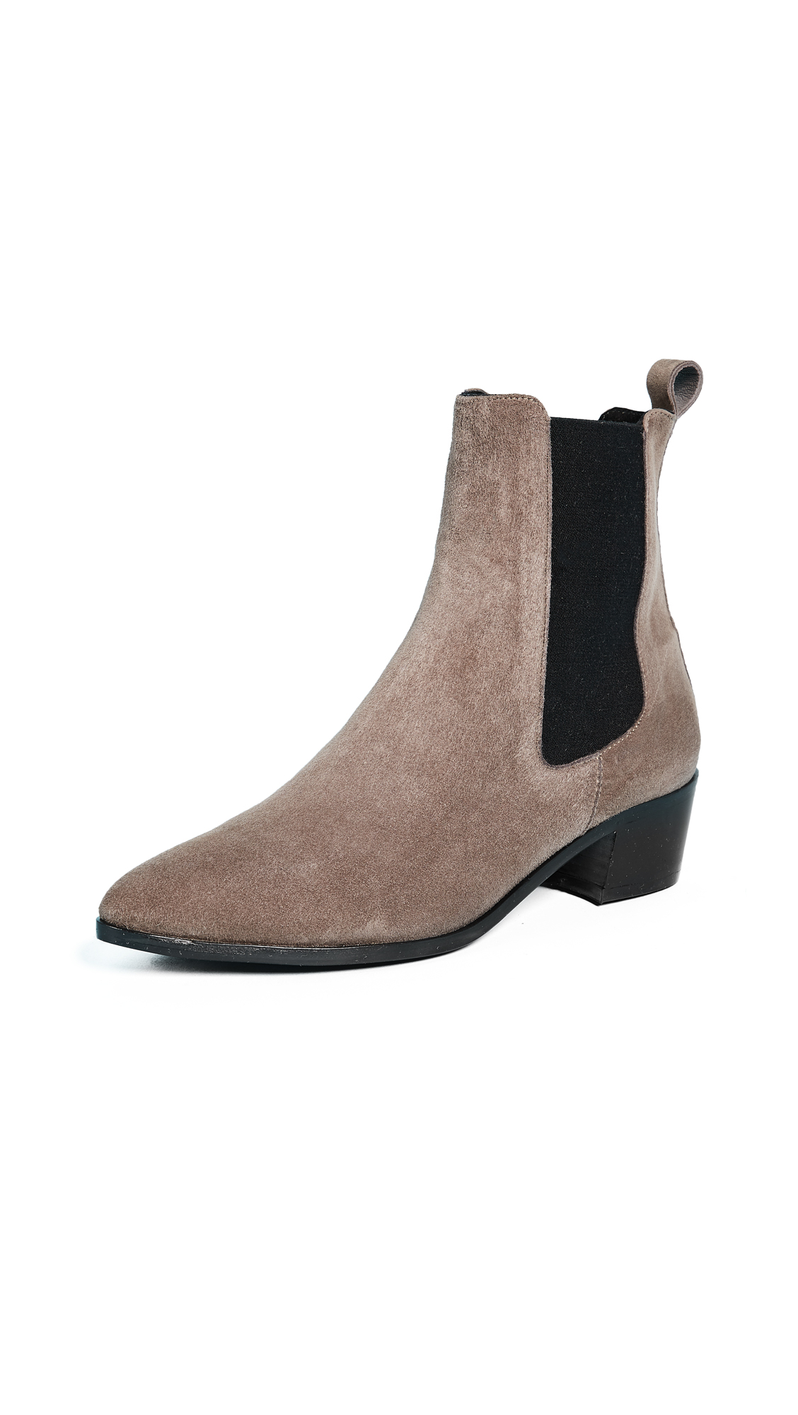 The Archive Mercer Heeled Chelsea Boots - Space Grey