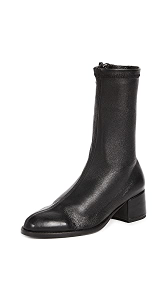 The Archive Greenwich Mid Boots In Black
