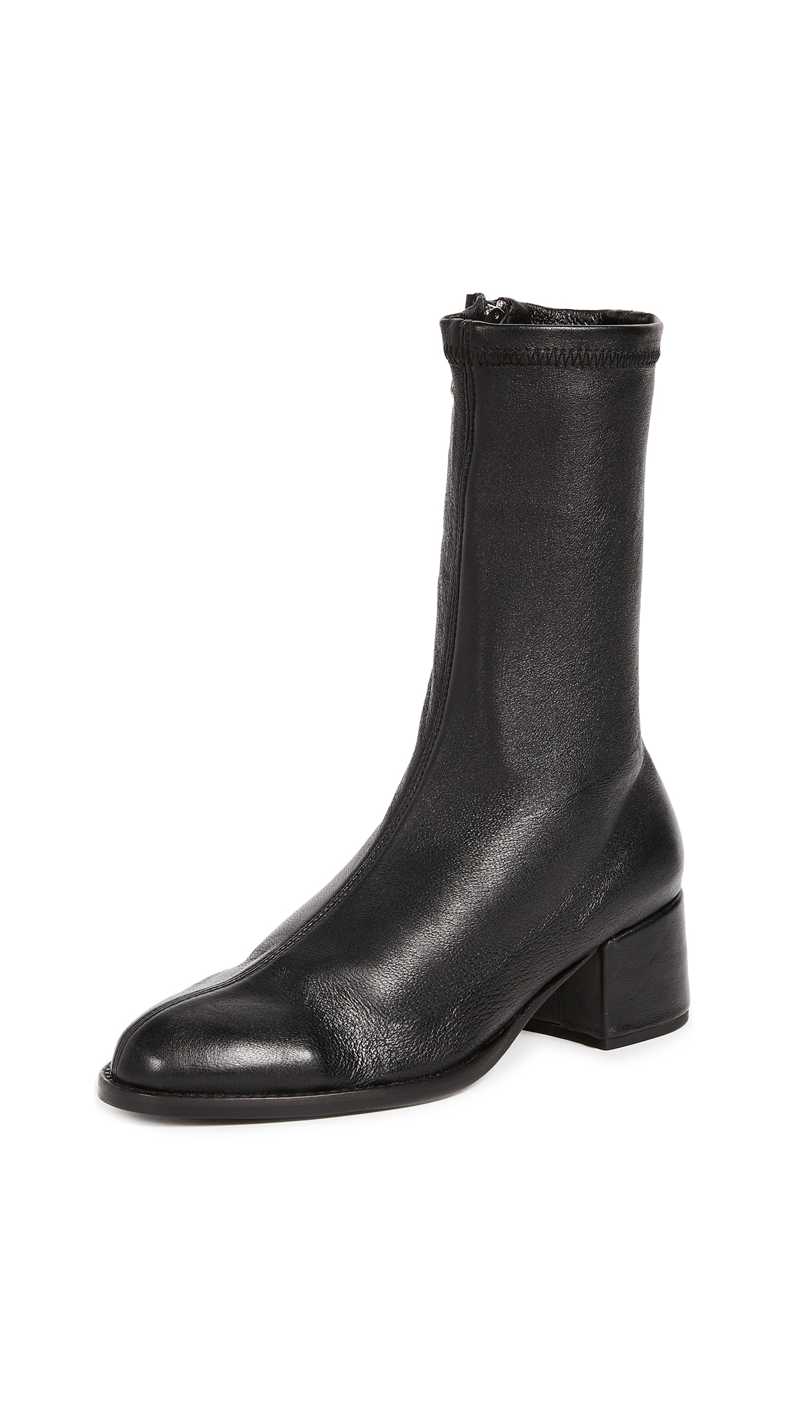 The Archive Greenwich Mid Boots - Black