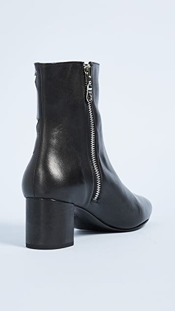 The Archive Madison Mid Zip Booties
