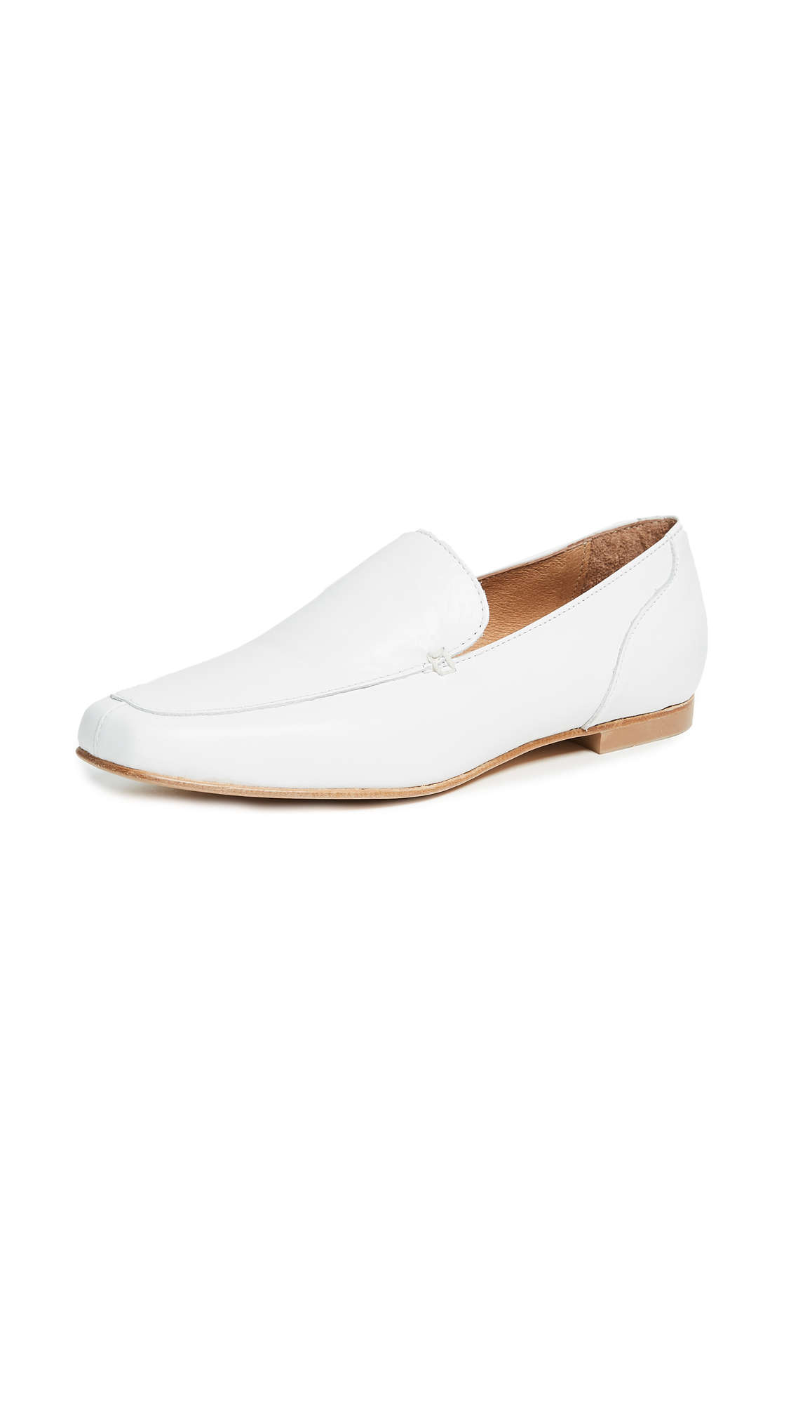 The Archive Great Jones Loafers - White