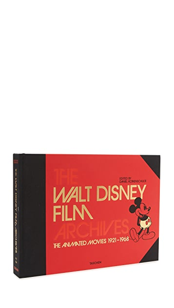 Taschen The Walt Disney Film Archives: The Animated Movies 1921-1968