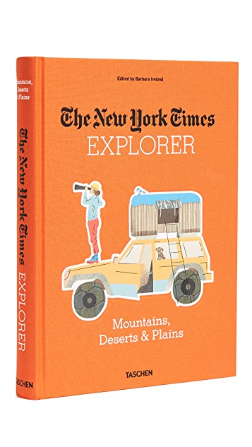 Taschen The New York Times Explorer: Mountains, Deserts & Plains