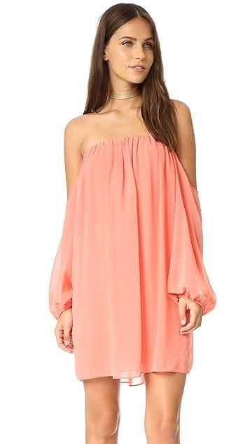 MISA Off Shoulder Dress