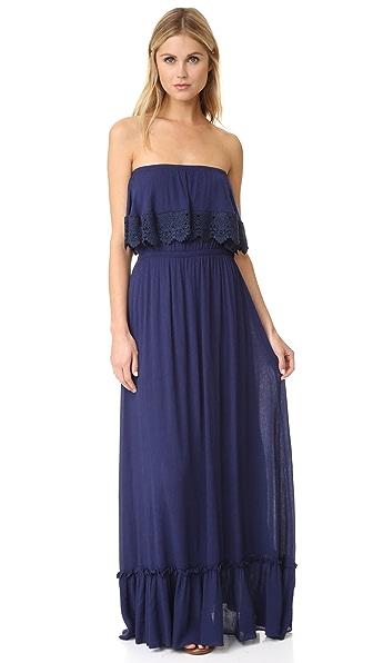 MISA Eve Dress - Indigo
