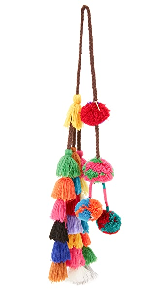 MISA Lucja Pom Pom Bag Charm