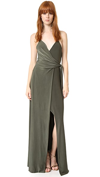 MISA Veronika Dress - Olive