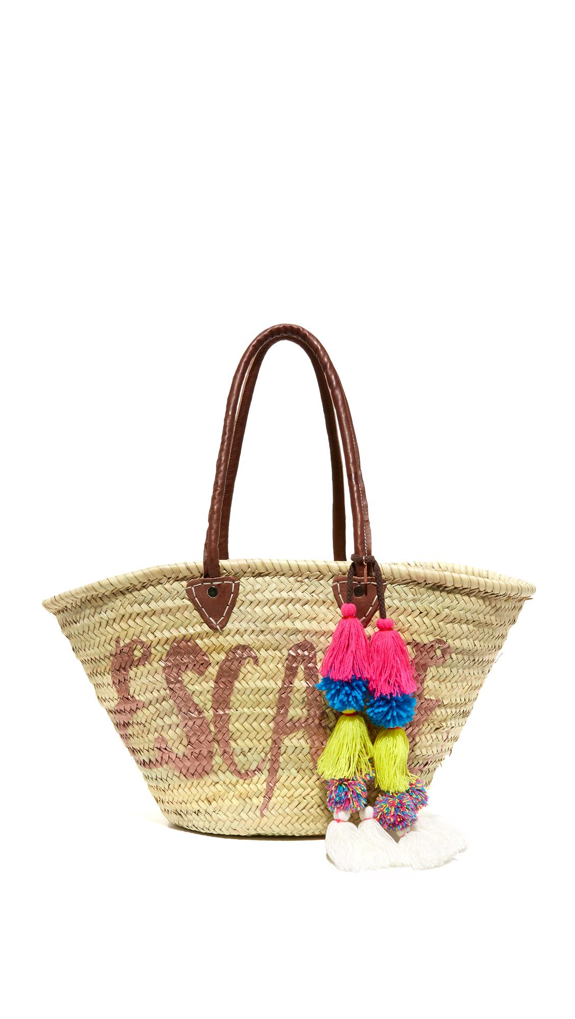 misa female 255807 misa escape marrakech market basket rose gold