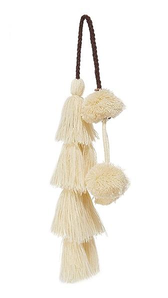 MISA Flavia Pom Pom Bag Charm