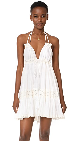MISA Sofi Dress In White
