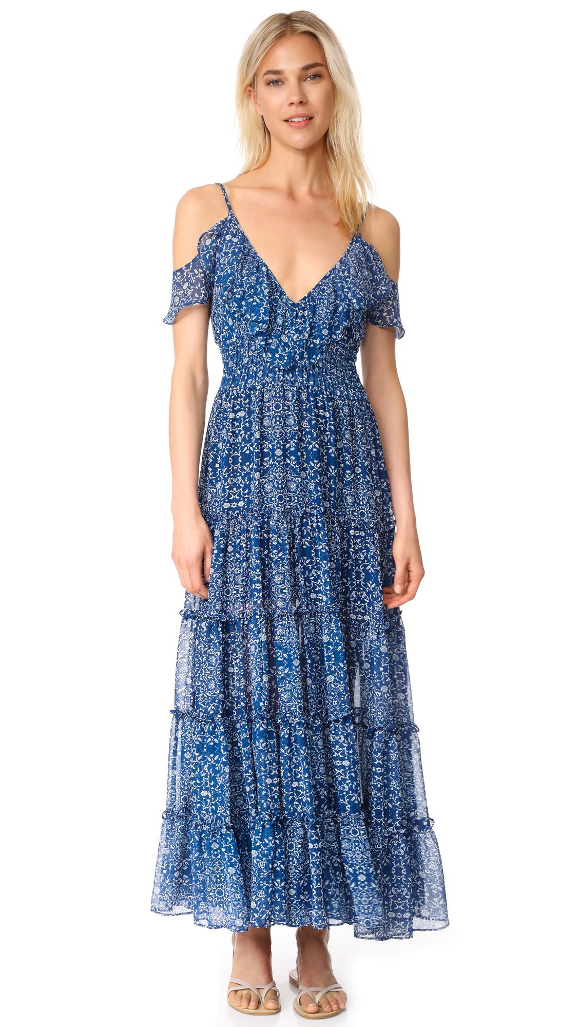 MISA Elodie Maxi Dress
