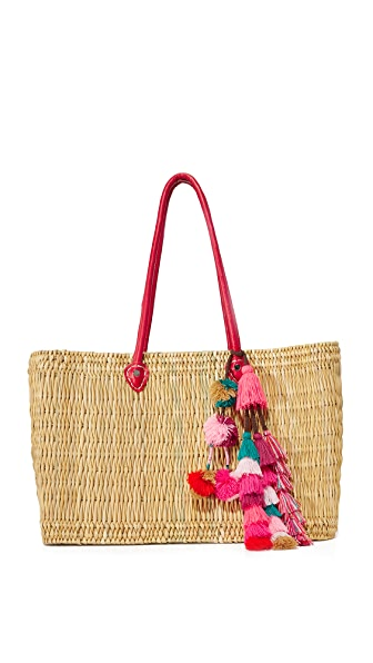 MISA Large Jane Box Bag - Red
