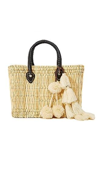 MISA Small Jane Box Bag In Black