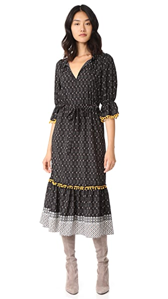 MISA Caeli Dress - Black/Multi