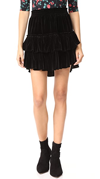 MISA Luisa Skirt - Black