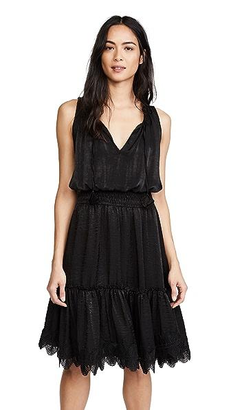 MISA Moav Dress In Onyx